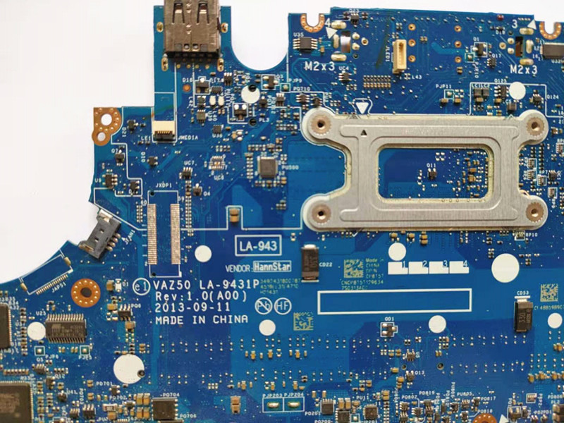 for dell latitude E7240 motherboard i5-4310 CN-0GMYR8 0GMYR8 VAZ50 LA-9431P laptop mainboard 100% well working 3