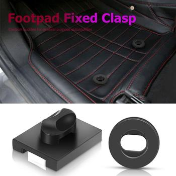 Universal Anti-slip Car Foot Pad Fixed Buckle Knob Buckle Floor Mats Holder Car Accessories image