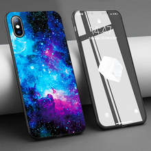 Coque Nebula Space It is Not My Limit Soft Silicone Phone Case for iPhone 11 Pro Max X 5S 6 6S XR XS Max 7 8 Plus Case Cover(China)