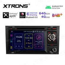XTRONS 7'' Android 10,0 PX5 Qualcomm Bluetooth 5,0 Auto Stereo DVD Player Radio GPS OBD für Audi A4 S4 B6 b7 RS4 Für SEAT Exeo