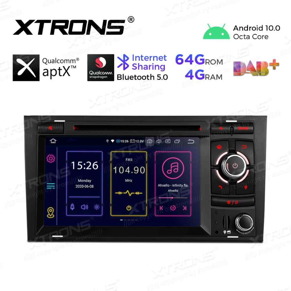 XTRONS 7 ''Android 10.0 PX5 Qualcomm Bluetooth 5.0 Car Stereo Lettore DVD Radio GPS OBD per Audi A4 S4 b6 B7 RS4 Per SEAT Exeo