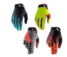 Для мужчин Велоспорт Анти скольжение полный палец перчатки mtb