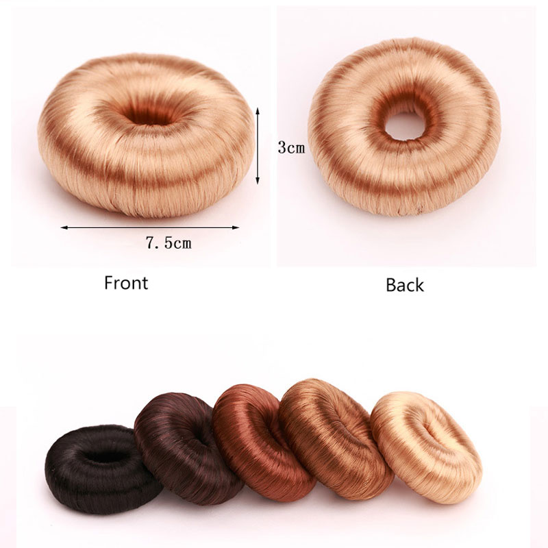 Korean Style Wig Hair Ring Hair Accessories For Women Girls Disk Tool Hair Holder Wig horsetail Hair Rope accesorios mujer in Women 39 s Hair Accessories from Apparel Accessories