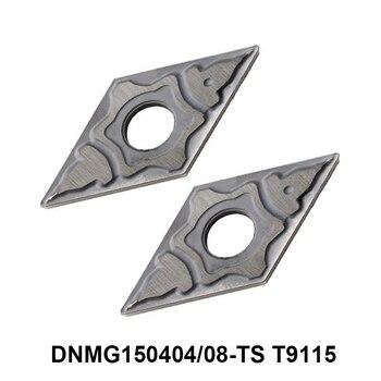Original Tungaloy DNMG150404-TS DNMG150408-TS T9115 DNMG 150408 150404 Carbide Inserts lathe Cutter Turning Tool CNC Cutting