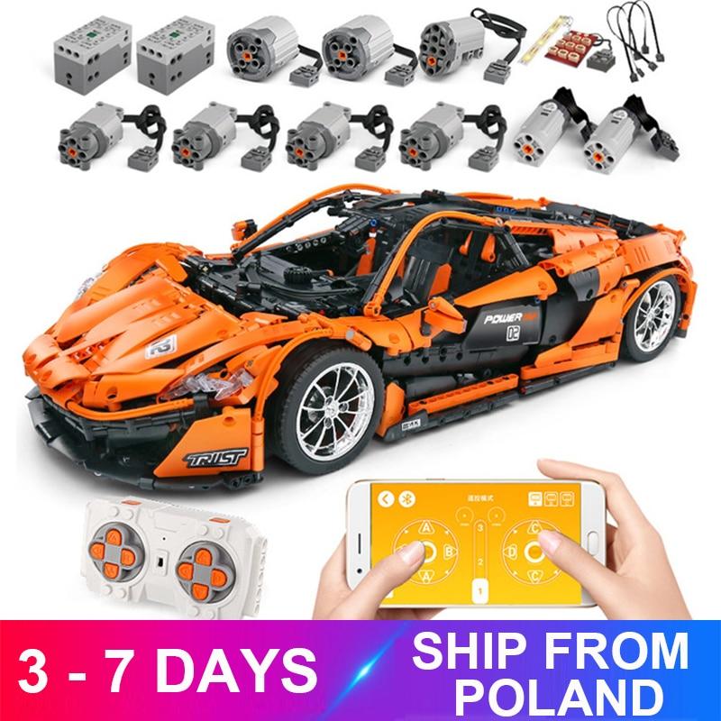 Mouldking 13090 APP RC Car Model Compatible 20087 Building Blocks Bricks Motor Function Educational Toys Kid Birthdays Gifts