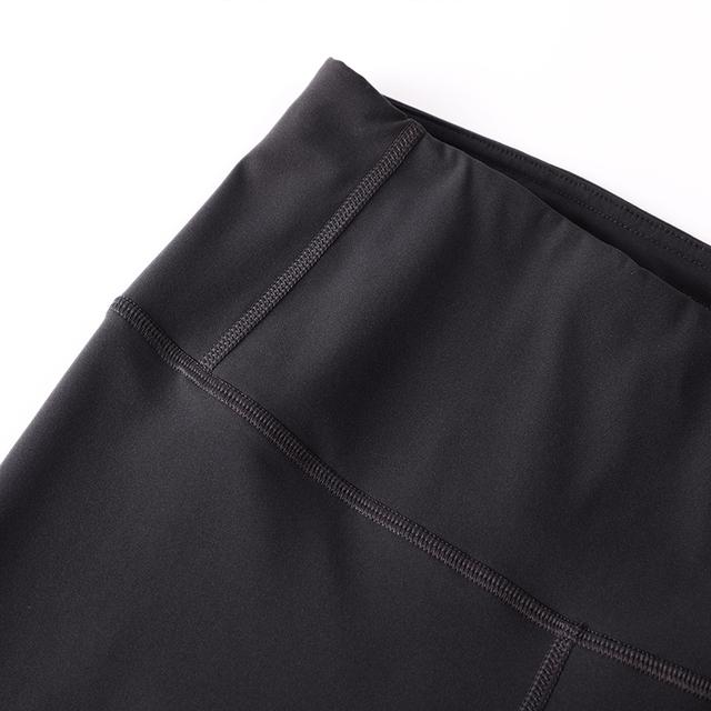 Drawstring Leggings with Inner Pocket