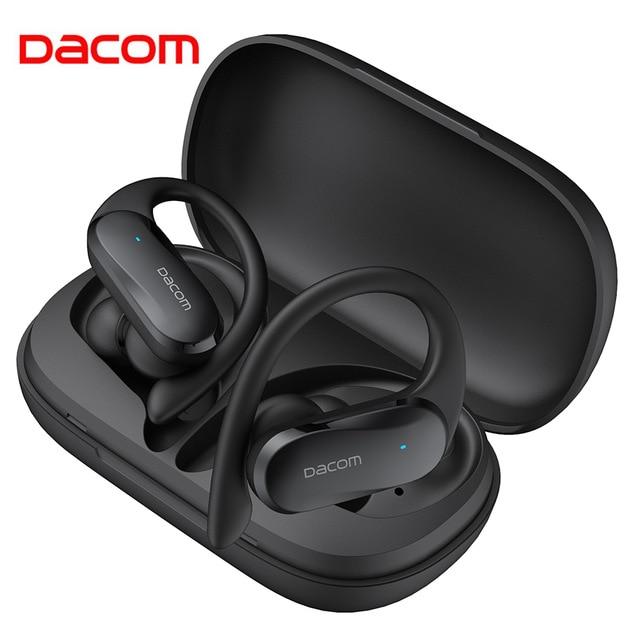 DACOM G05 полностью Беспроводные стереонаушники TWS Bluetooth 5,0 Hi-Fi мини наушники TWS Bluetooth наушники с ЖК-дисплеем для iPhone Samsung