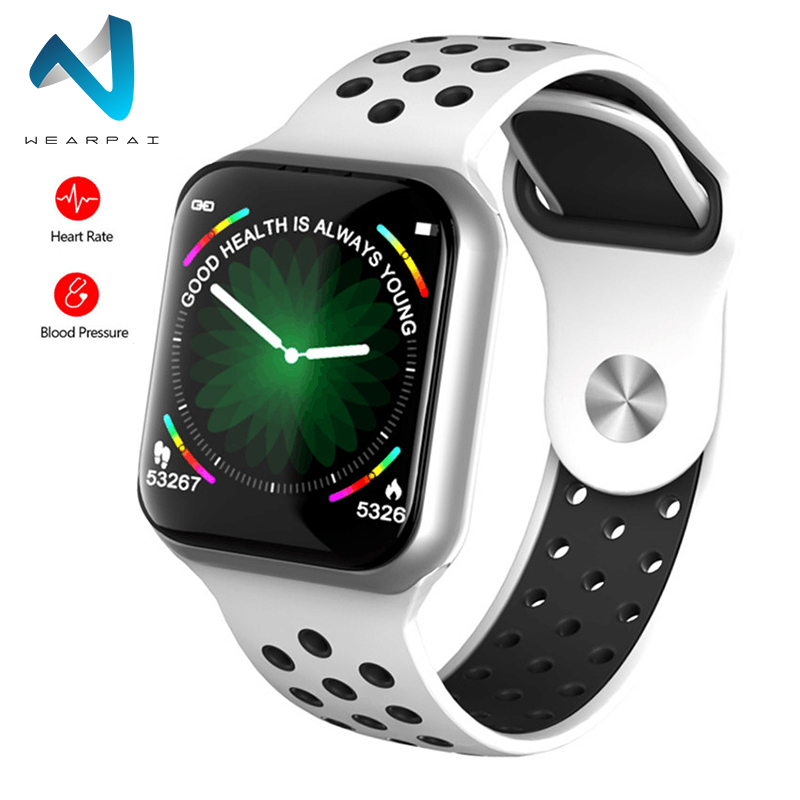 Wearpai Newest  F8 Wristband  Waterproof Long Standby Smart Bracelet Heart Rate Blood Pressure Smart Watch For IOS Android