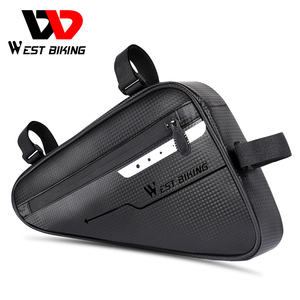 West biking велосипедная сумка, крепится на переднюю трубу рамы сумки Водонепроницаемый MTB дорожный Треугольники панье инструмент для ремонта п...