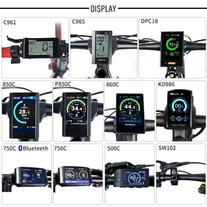 Image 1 - Electric Bike TFT Display DPC18 850C 500C SW102 C965 C961 750C Bluetooth for BAFANG BBS Mid Drive Motor Bicycle ebike Computer