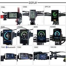 חשמלי אופני TFT תצוגת DPC18 850C 500C SW102 C965 C961 750C Bluetooth עבור BAFANG BBS אמצע כונן מנוע אופניים ebike מחשב