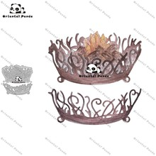 New Dies 2020 Make a fire in the wild Metal Cutting diy photo album cutting dies Scrapbooking Stencil stamps and