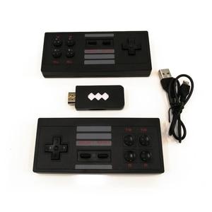 Image 3 - Mini Retro konsola kontroler bezprzewodowy kompatybilny z HDMI podwójny odtwarzacz 4K AV gra wideo konsola wbudowana w 568/600 klasyczne gry
