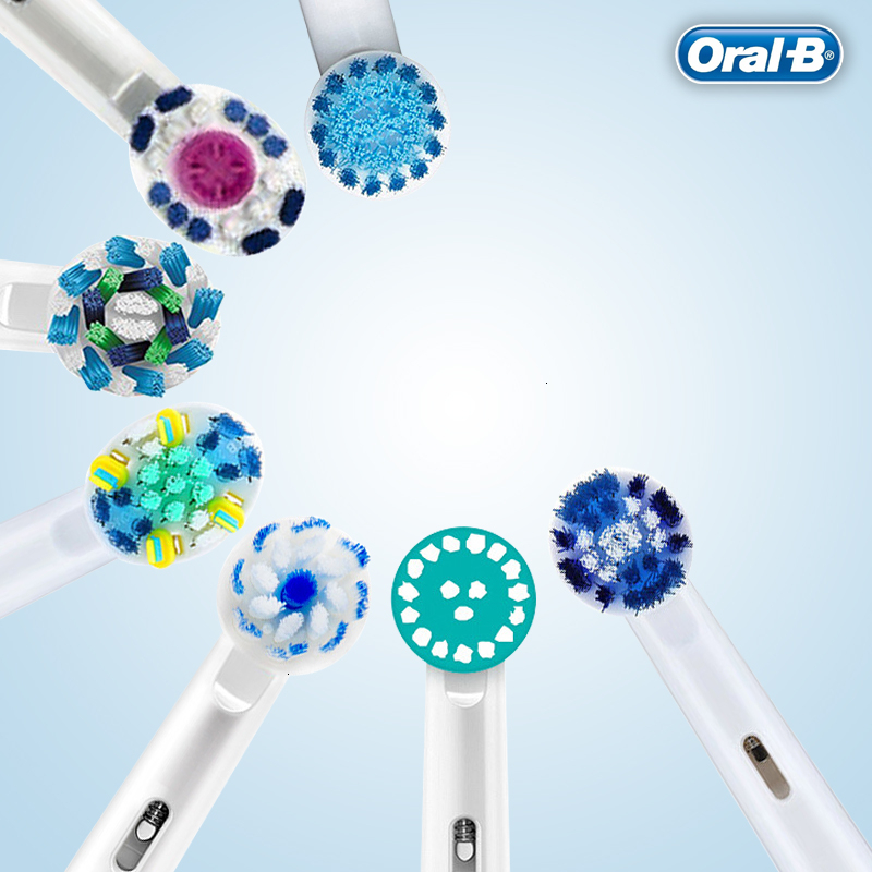 Oral B Original Electric ToothBrush Heads For Rotary Electric Toothbrush Replaced Teeth Brush Head 4pc/Pack Or 2pc/Pcak image