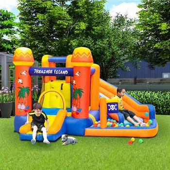 GRT Fitness Treasure-Island-Inflatable-Bounce-House-Inflatable-castle-trampoline-amusement-park-jump-slide-outdoor-large-jump-equipment.jpg_350x350 On Sale
