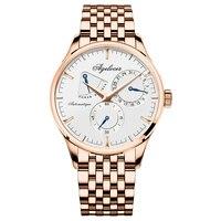 2019 Прямая доставка AGELOCER Швейцарский Топ бренд Мужские механические часы Автоматические модные роскошные золотые мужские часы Relogio Masculino