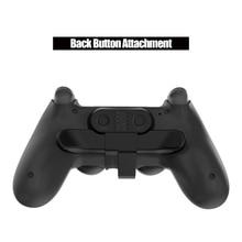 משחק בקר בחזרה מצורף לחץ עבור SONY PS4 Gamepad ג ויסטיק אחורי הארכת מפתחות מתאם עם טורבו מפתח אבזרים