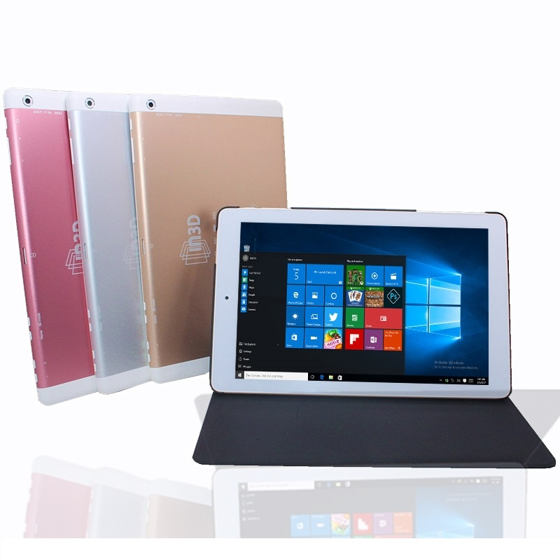 8.9 inch Tablet PC 3D Screen  with Original Leather Case Intel Atom Z3735D Windows 10 2GB/32GB HDMI 1920 X 1200 IPS