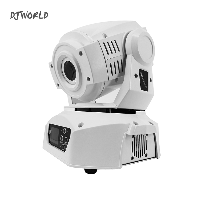 Djworld Best Sellers 90W LED Spot Moving Head Light LED DJ Gobo 90W Moving Heads Lights DMX 512 Super Bright Dj Luces Discoteca