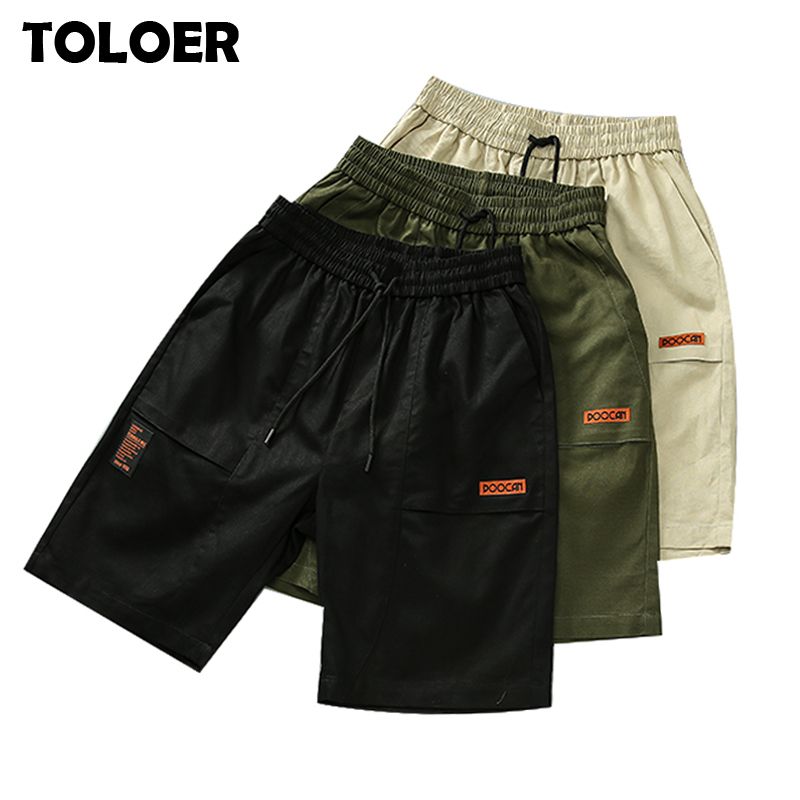 Running Shorts Men Fashion Crossfit Shorts Quick Dry Men Summer Fitness Gym Shorts Male Beach Short Sport Pants Pockets Shorts