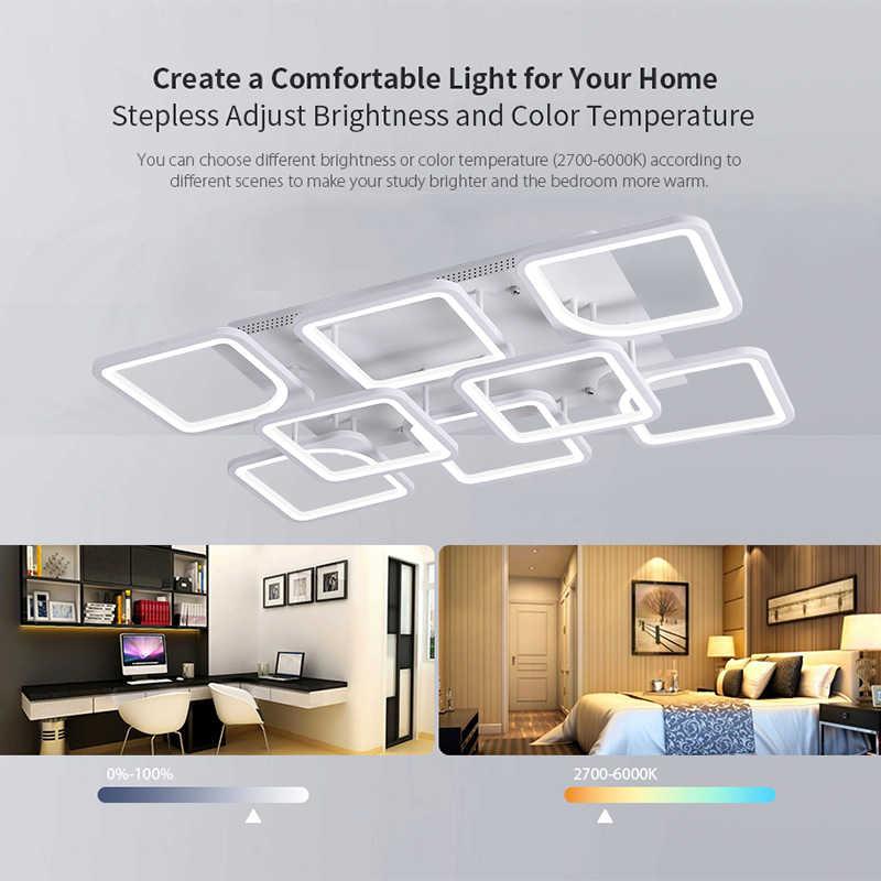 Nueva lámpara led para sala de estar dormitorio kitchern casa lámpara moderna araña de techo Led iluminación de la lámpara