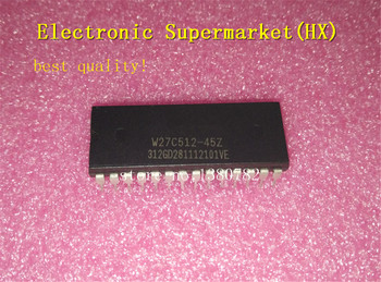Free Shipping 10pcs/lots W27C512-45Z W27C512  DIP-28  New original  IC In stock! free shipping 5pcs fa5571n in stock