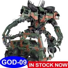 Tf figura de ação brinquedos god09 god 09 g1 verde bonecrusher camuflagem pintura sonho fábrica presente natal deformação transformação