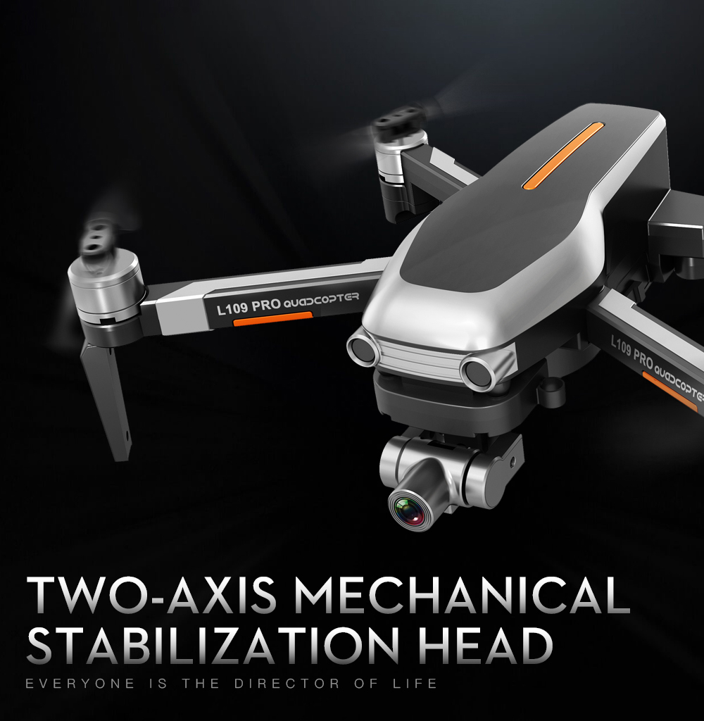 2-axis cardan brushless motor profissional dobrável quadcopter