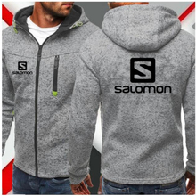 Men Sports Casual Wear Zipper COPINE Fashion Tide Jacquard Hoodies Fleece Solomon Jacket