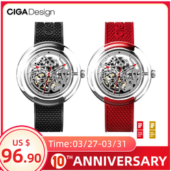CIGA дизайн CIGA часы T серии механические часы прозрачные полые часы женские механические часы женские часы