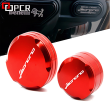 Free Shipping For Benelli Leoncino 500 BJ500 Motorcycle Aluminum Front & Rear Brake Master Cylinder Fluid Reservoir Cover Cap