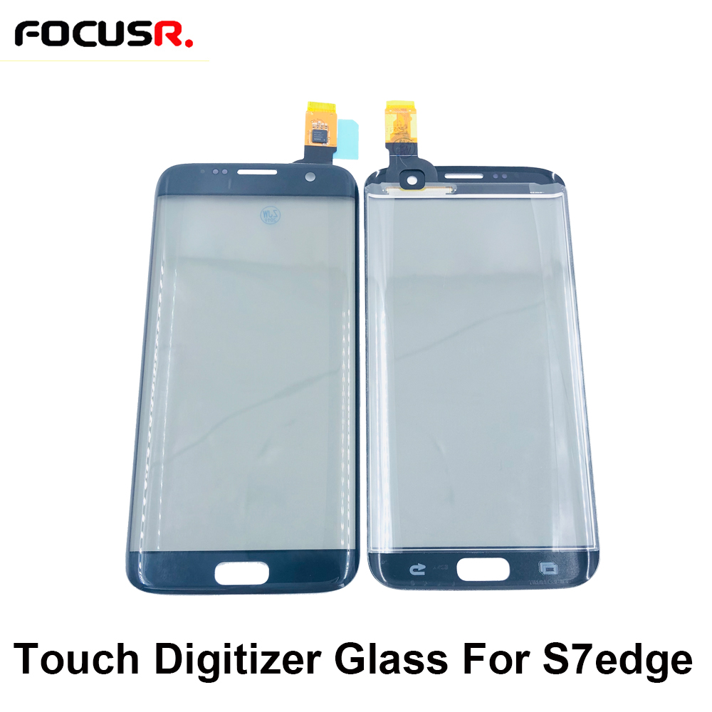 100% Original Front Touch Screen Digitizer Panel Outer Glass Sensor Cover For Samsung S7edge G935 Touch Screen Repair Parts