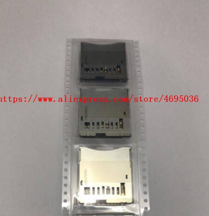 New SD Memory Card Slot Repair Parts For Canon 6D 650D Rebel T4i 700D T5i 5D Mark III 5D3 5Ds G7 G9 SX20 HS SLR Camera