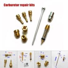 Carburetor Carb Repair Kit For Harley 883 (CV Type) XLH883 Main Jet + Pilot Rebuild replacement accessories parts