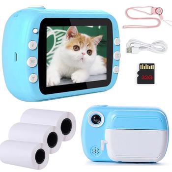 3 5 #8222 aparat natychmiastowy dla dzieci dla dzieci aparat fotograficzny 1080P aparat cyfrowy HD dla dzieci aparat fotograficzny zabawka prezent urodzinowy dla dziewczynki Boy tanie i dobre opinie Z tworzywa sztucznego CN (pochodzenie) 7-12m 13-24m 25-36m 4-6y 7-12y 12 + y Built-in rechargeable battery 1200 mAh Unisex