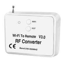 Wifi sem fio universal novo ao telefone do conversor do rf em vez do controle remoto 240-930mhz para a casa esperta