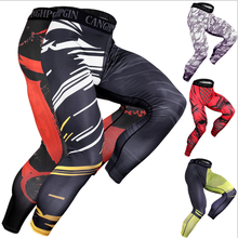 New MMA boxing sports fitness personality breathable loose large size shorts Thai fist pants Tiger Muay Thai shorts mma