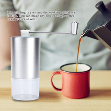 Mini Manual Coffee Grinder Household Coffee Mill Coffee Grinding Machine Kitchen Accessories 400w electric coffee grinder mini grains spices hebals cereals coffee dry food grinder mill grinding machine kitchen appliance