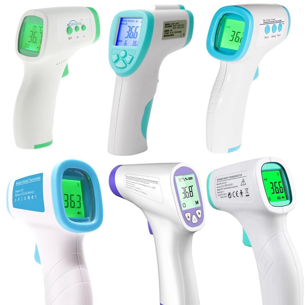 Digital LCD Infrared IR Thermometer Baby Adult Non-contact Forehead Body Temperature Measurement Device Children Termometro