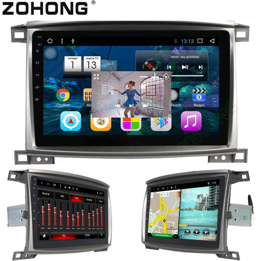 "MicroNavi 8,1 ""Android 10,2 Octa 8 Core оперативная память 2 ГБ dvd плеер автомобиля для Toyota Land cruiser 100 LC 100 gps навигации радио BT wi fi"