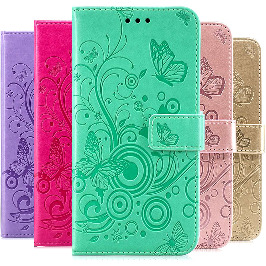 PU Leather Flip Case For OPPO A5 A 5 Wallet Case For OPPO A5 Phone Case Funda Capa image