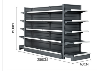 Supermarket shelf display shelf, snack shop, convenience store, double sided, single-sided, multi-functional and free comb