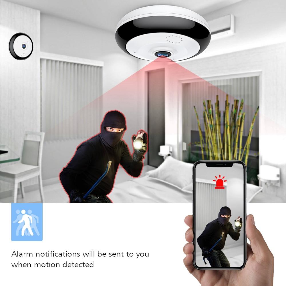 Loosafe 360 shkallë Panoramike Wifi HD Kamera Mbështetje për - Siguria dhe mbrojtja - Foto 3