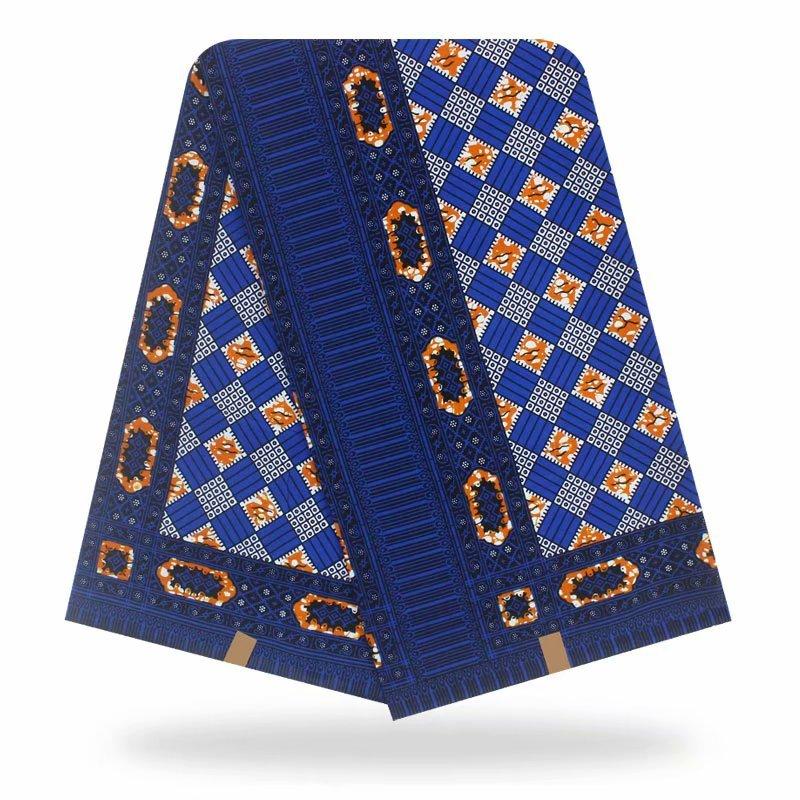 2020 Wax Prints Nigerian Ankara Fabric Wax Printed 100% Cotton African Fabric Real Wax Fabric 6 Yards