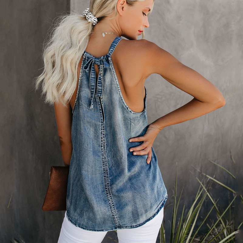 Jean jacket Spring and Autumn New Shiny Crystal Decoration Collarless Diamante Plain Jacket Fashion Casual Lady Denim Short in Jackets from Women 39 s Clothing