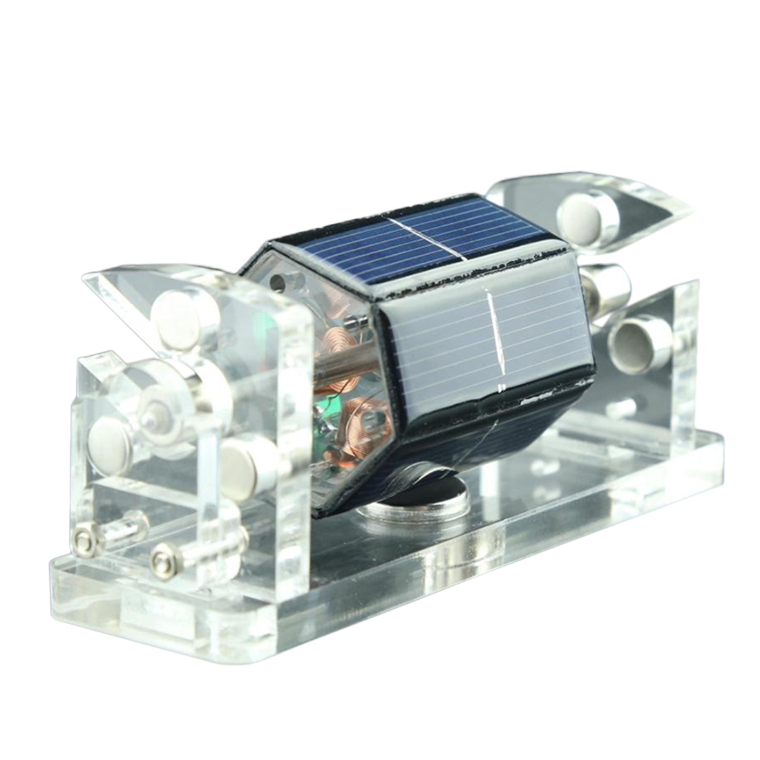 Hot Sale DIY Solar Magnetic Levitation Model Levitating Motor Brain-Training Toy For Children Kids Educational Toy Birthday Gift