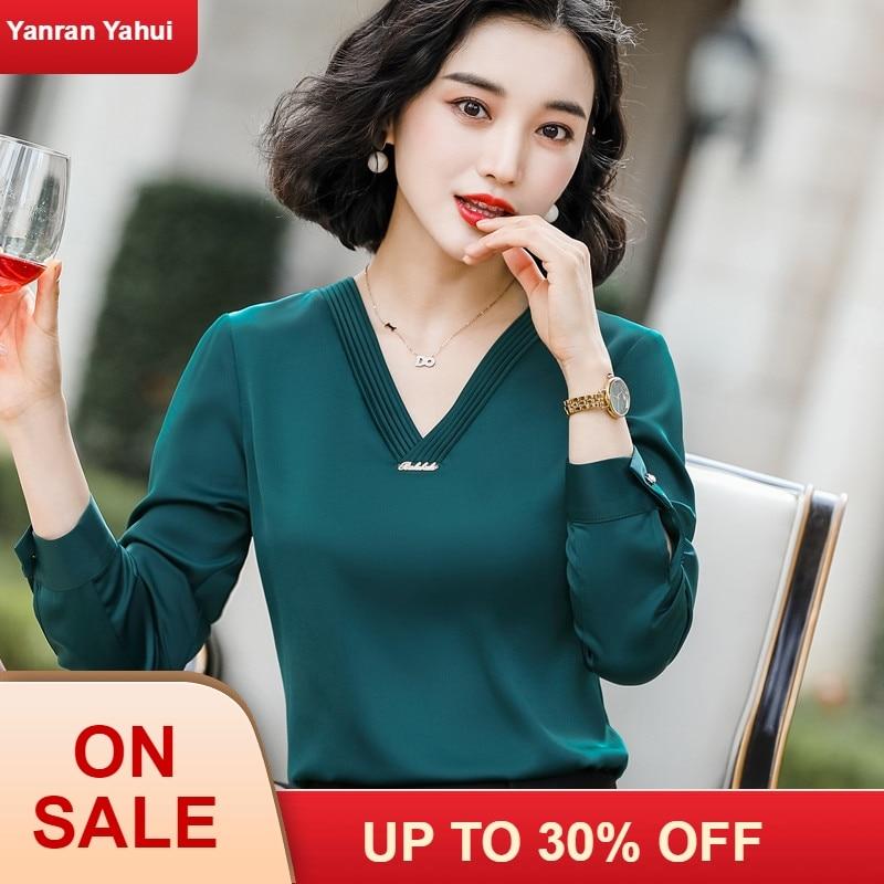 chiffon blouse  women womens tops and blouses shirts ruffle ladies plus size