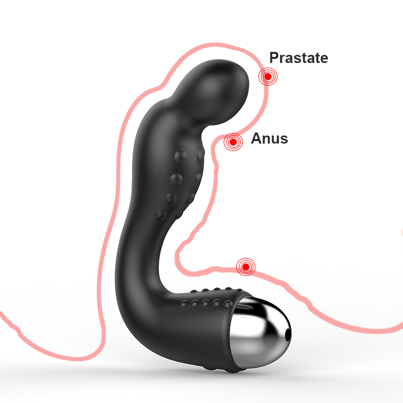 Anal Vibrator Butt Plug Toy For Woman Prostate Massager Vibrator For Men Prostate Large Milking Vibration Sex Toys For Couples