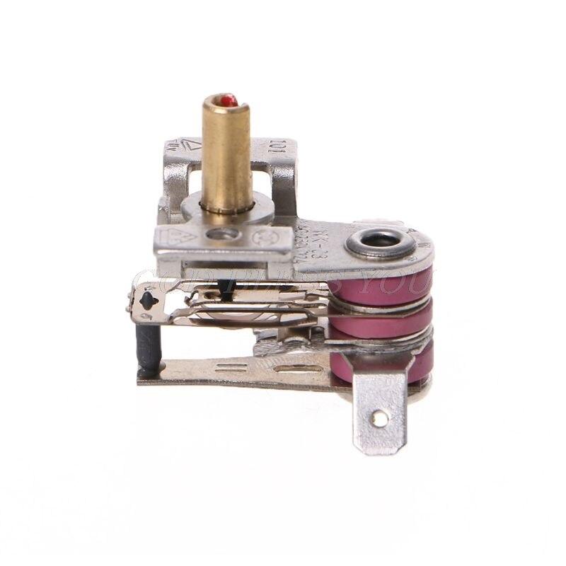 Ac 250 v 16a ajustável 90 celsius interruptor de temperatura termostato aquecimento bimetálico KDT-200 transporte da gota alta qualidade