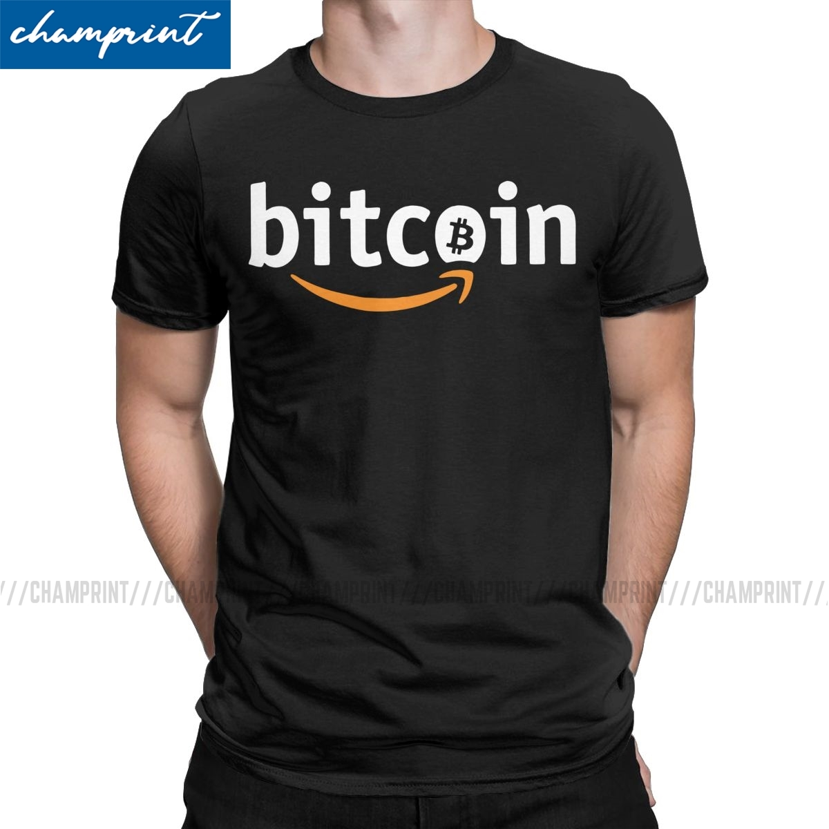 Vintage Bitcoin X Amazon alterne-cryptoboy T-Shirt hommes t-shirts Bitcoin Crypto-monnaie Btc Blockchain Geek t-shirts